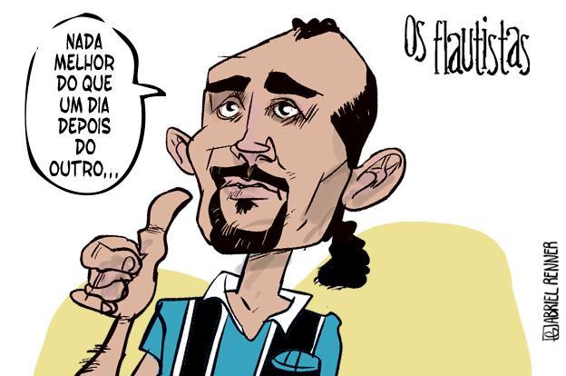 Os Flautistas: o alívio gremista na Colômbia Gabriel Renner/