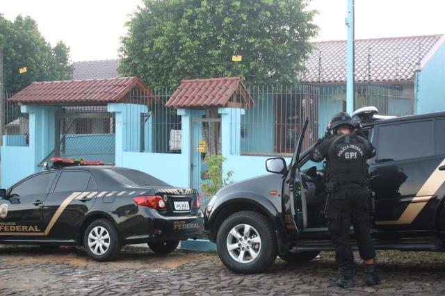 PF realiza operação contra tráfico internacional no RS Divulgação/Polícia Federal