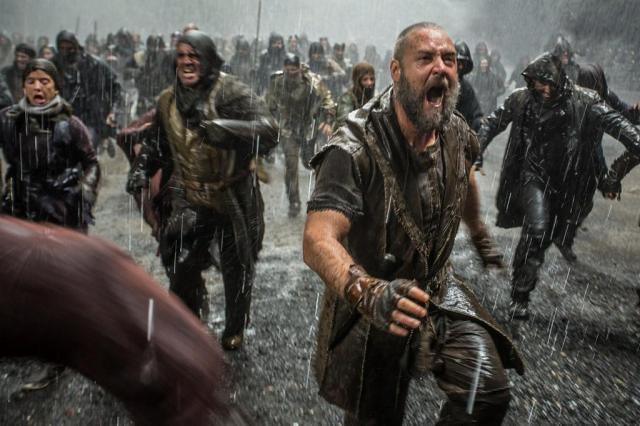Russell Crowe estrela o polêmico filme 'Noé' em versões 3D e Imax Paramount Pictures/divulgação