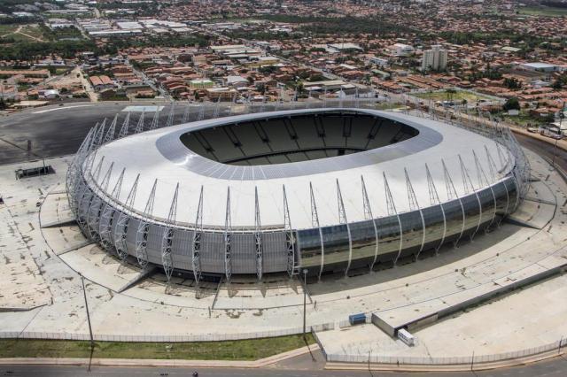 Fortaleza reaproveita material de 2013 e barateia estruturas temporárias da Copa Fabio Lima/Divulgação