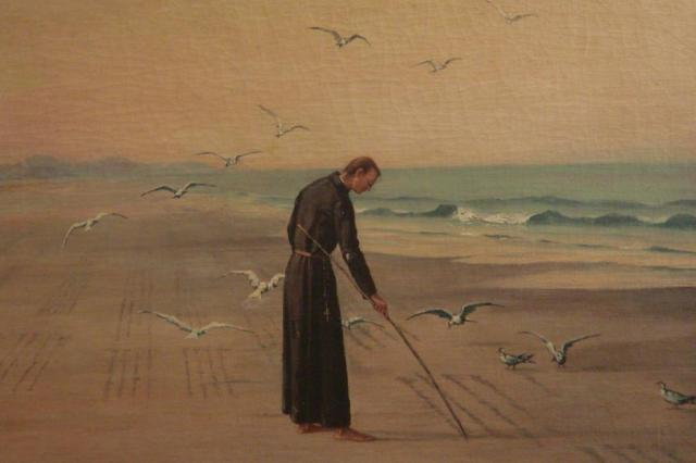 Padre espanhol que se radicou no Brasil, José de Anchieta é canonizado Divulgação/Museu Anchieta - Pateo do Collegio