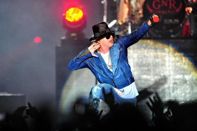 Guns N' Roses conquista novos fãs com hits antigos em Porto Alegre Carlos Macedo/Agencia RBS