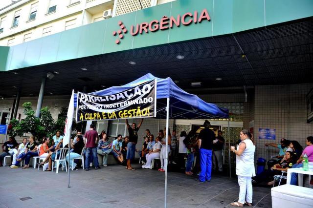 Definidas regras de greve no Hospital Conceição, em Porto Alegre Lívia Stumpf/Agencia RBS