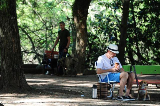Calor nesta sexta antecipa fim de semana ensolarado e com temperaturas acima dos 30ºC Fernando Gomes/Agencia RBS
