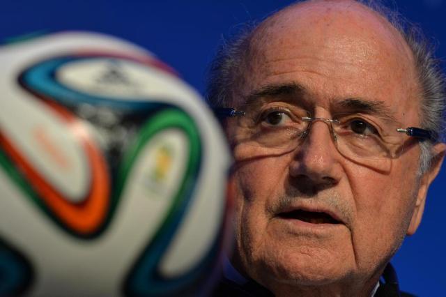 """Joseph Blatter garante: """"Uruguai estará na Copa do Mundo de 2014"""" NELSON ALMEIDA/AFP"""