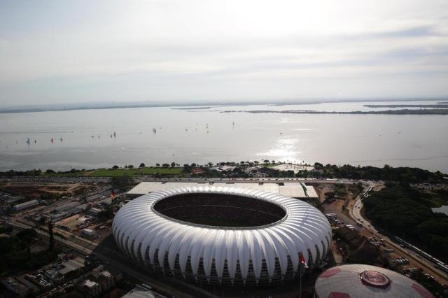 """Sant'Ana: """"Sonho com o título gremista conquistado no novo Beira-Rio"""" Jefferson Botega/Agencia RBS"""