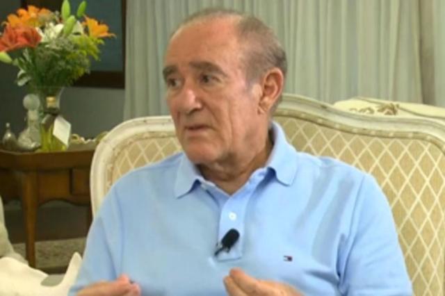 """""""Tenho que agradecer a Deus. Eu só não quero ir pessoalmente"""", brinca Renato Aragão após receber alta reprodução/renato aragão TV Globo"""