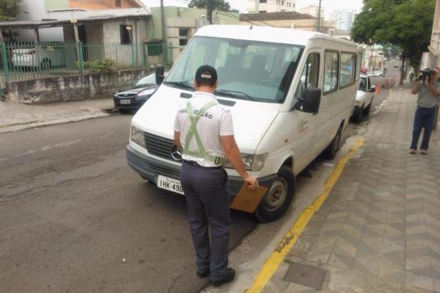 Gerência Municipal de Trânsito multa veículo da própria prefeitura em Santa Maria Cláudio Vaz/Agência RBS