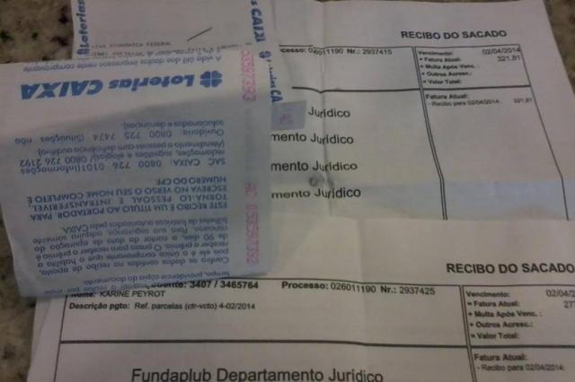 Segurança encontra envelope com boletos e paga contas em São Leopoldo Reprodução/Facebook