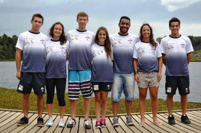 Atletas da equipe caxiense de canoagem disputam competições e fazem período de treinamento na Europa  Daniel Lucas Rodrigues/Divulgação