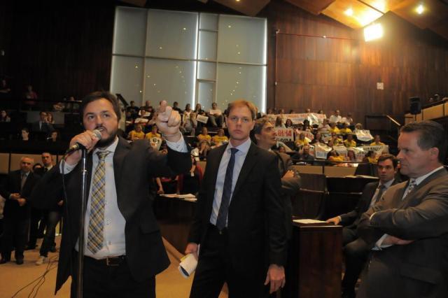 Assembleia aprova R$ 1,5 bilhão em reajuste para servidores até 2017 Marcelo Bertani/Divulgação
