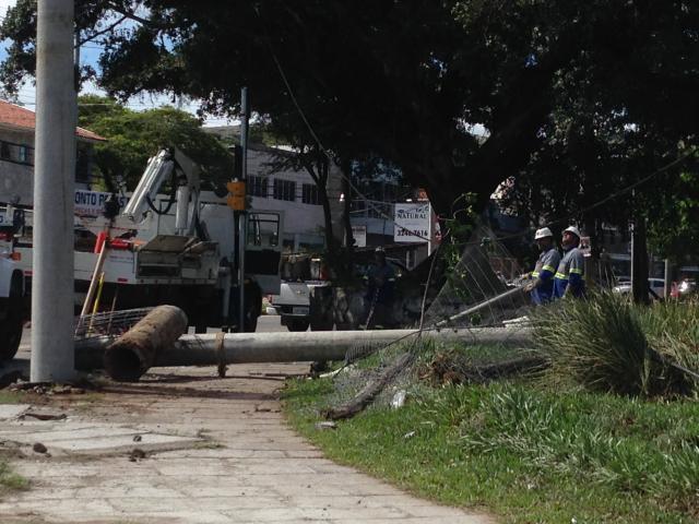 Ventos fortes deixam cerca de 90 mil pontos sem energia no Rio Grande do Sul Natália Pithan / Rádio Gaúcha/
