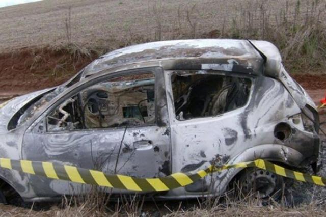 Polícia encontra corpo carbonizado dentro de carro de filha de inspetora em Palmeira das Missões Cidi Farias/Especial / Três Passos News