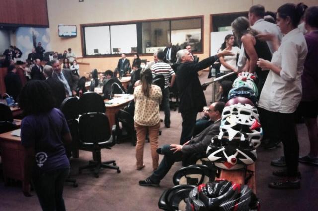 Projeto do Fundo Cicloviário será votado novamente na Câmara de Porto Alegre Lara Ely/Agencia RBS