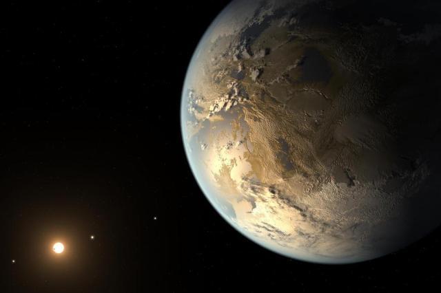 Descoberto o primeiro planeta habitável do tamanho da Terra NASA Ames/SETI Institute/JPL-Caltech