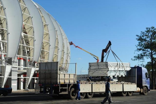 Inter anuncia consórcio que fará integração das estruturas temporárias Felix Zucco/Agencia RBS