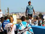 Grêmio apresenta os novos unifomres do clube para a temporada 2014 antes da partida diante do Atlético-MG, válida pelo Campeonato Brasileiro de 2014.