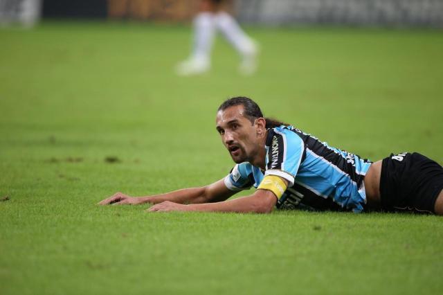 "Barcos: ""Nos 90 minutos, tínhamos que ter ganhado"" Mauro Vieira/Agencia RBS"