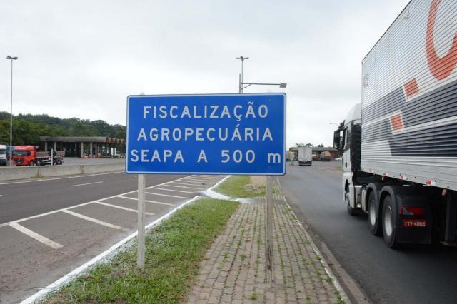 Caminho livre na BR-101 para produtos gaúchos Fernando Dias/Fernando Dias/Seapa