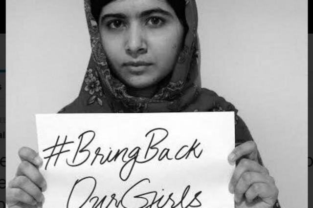 No Twitter, campanha por nigerianas sequestradas ganha força Twitter/Reprodução