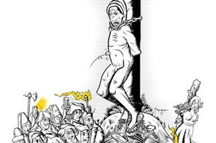 Por que os linchamentos persistem na nossa sociedade Gilmar Fraga/Ilustração,ZH
