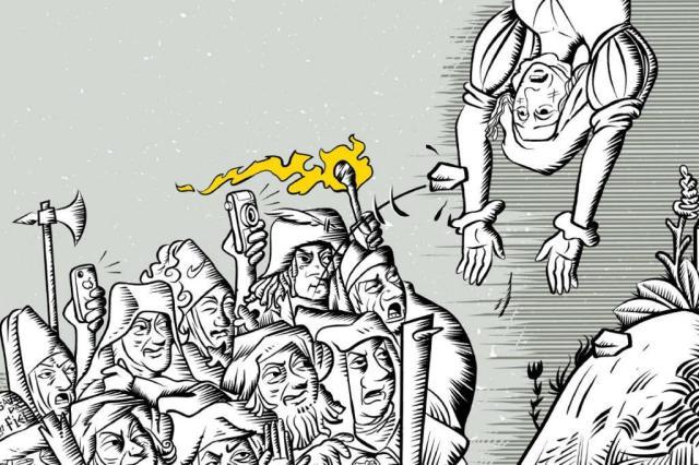 Linchamentos põem a nu fragilidades da democracia Reprodução/Zero Hora