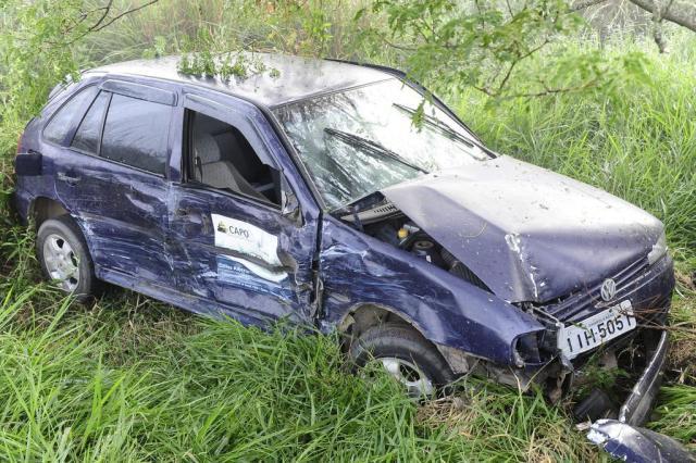 BR-290 tem colisão envolvendo quatro carros Ronaldo Bernardi/Agência RBS