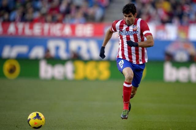 Diego Costa retorna ao Atlético de Madrid, mas é emprestado ao Milan DANI POZO/AFP