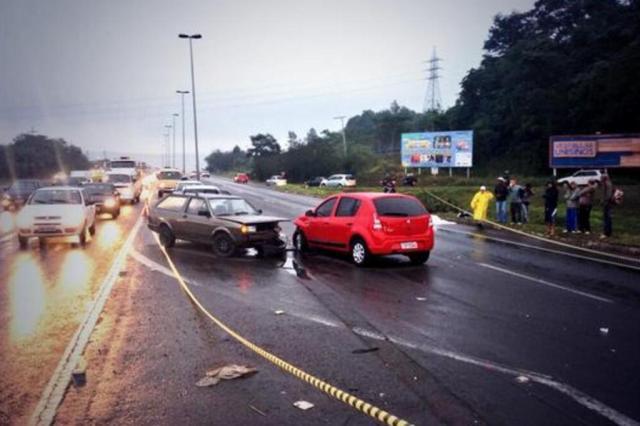 Pedestre morre em acidente na ERS-239, em Novo Hamburgo Mateus Ferraz/Rádio Gaúcha