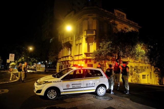 Prédio da Justiça Militar teria sido alvo de incêndio criminoso Diogo Zanatta/Especial