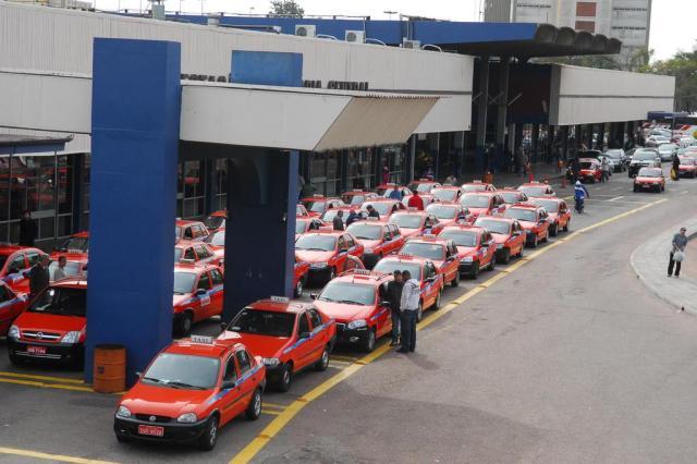 Instalação de GPS nos táxis começa nesta terça-feira Andréa Graiz/Agencia RBS