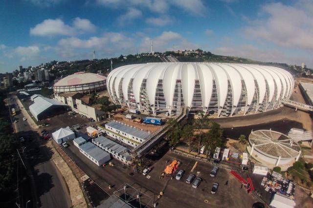 Ministério Público investiga gastos com estruturas temporárias do Beira-Rio Omar Freitas/Agencia RBS