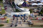 Centro de eventos da Fenadoce é liberado pelos bombeiros Divulgação/Assessoria Fenadoce