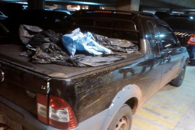 Polícia Federal apreende 140 quilos de cocaína em Eldorado do Sul Divulgação/PRF