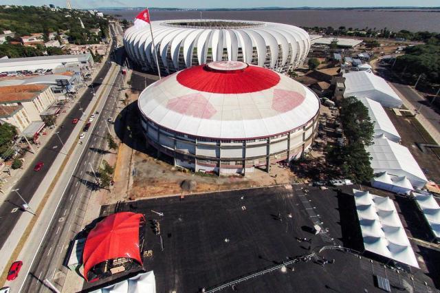 Às vésperas da Copa, deslocamento especial para cadeirantes no perímetro Fifa desperta dúvidas Omar Freitas/Agencia RBS