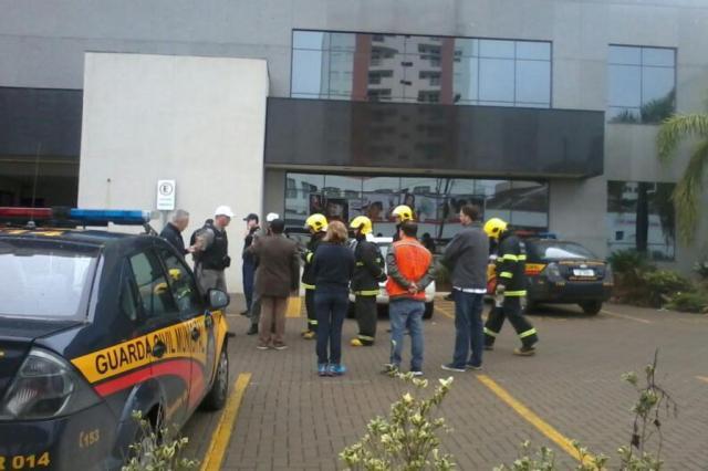 Prédio da prefeitura de São Leopoldo é evacuada após ameaça de bomba  Tatiana Souza/Acervo Pessoal