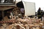 Acidente entre dois caminhões deixa um morto em Farroupilha