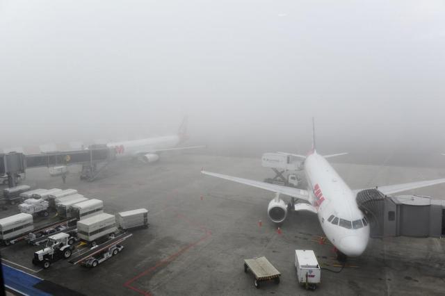 Pelo segundo dia consecutivo, neblina fecha totalmente o Salgado Filho Ronaldo Bernardi/Agência RBS