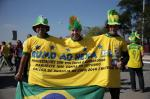Torcedores chegam ao Itaquerão e à Fan Fest em São Paulo