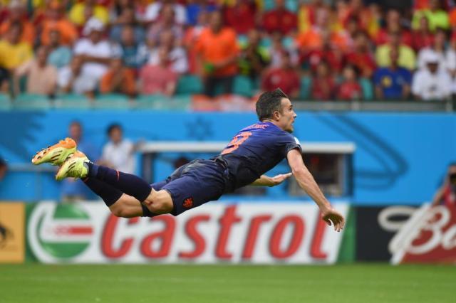 Massacre: quatro anos depois, Holanda faz 5 a 1 na Espanha Emmanuel Dunand/AFP