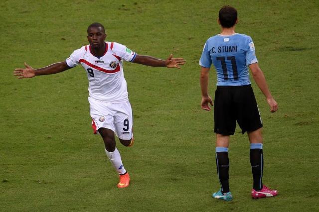 Costa Rica surpreende e vence o Uruguai por 3 a 1 em Fortaleza  CHRISTOPHE SIMON/AFP
