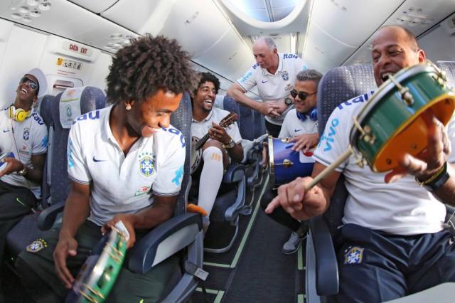 Brasil enfrenta o México com ajuda da torcida que quebrou o protocolo da Fifa Ricardo Stuckert, CBF/Divulgação