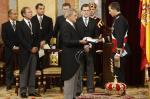Felipe VI jura fidelidade à Constituição como novo rei da Espanha