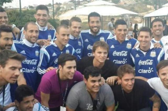 VÍDEO: jogadores da Argentina cantam hino de provocação à Seleção Brasileira Reprodução/Instagram