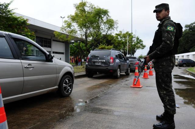 Día de movimiento récord en la frontera rumbo a Porto Alegre Ronaldo Bernardi/Agencia RBS