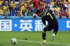 """David Villavira """"vilão"""" graças a recurso de vídeopara a arbitragem na MLS WILLIAM WEST/AFP"""