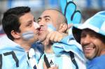 Torcedores: Argentina X Nigeria