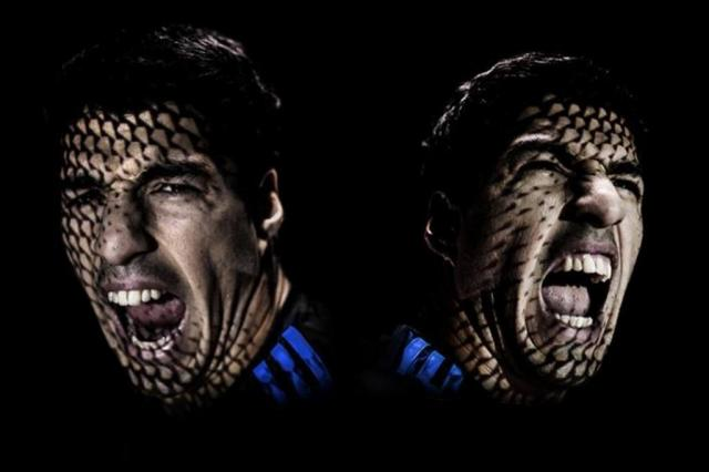 Adidas suspende atividades publicitárias com Suárez durante a Copa do Mundo Adidas/Reprodução