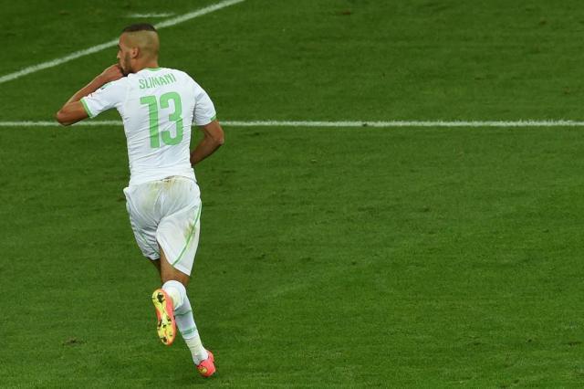 Argélia empata, se classifica e enfrenta a Alemanha no Beira-Rio PEDRO UGARTE/AFP