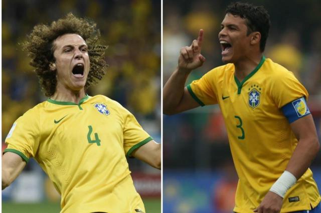 xi Thiago Silva And David